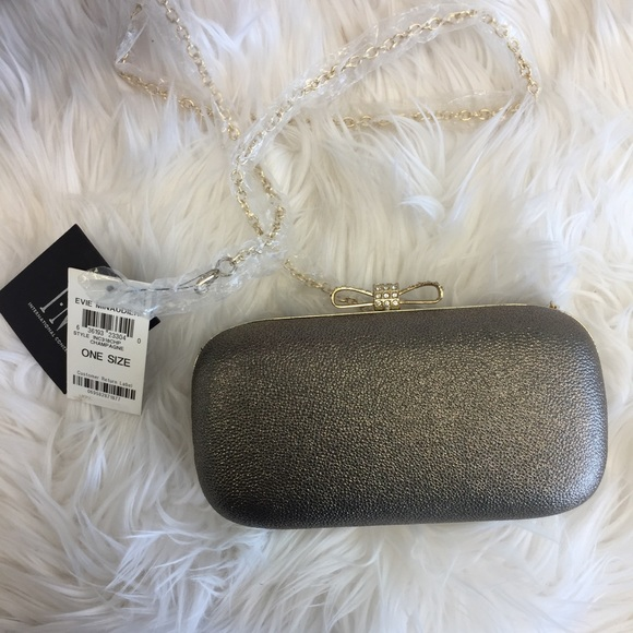 9cac980592e INC International Concepts Bags | New Inc Evie Gold Clutch | Poshmark
